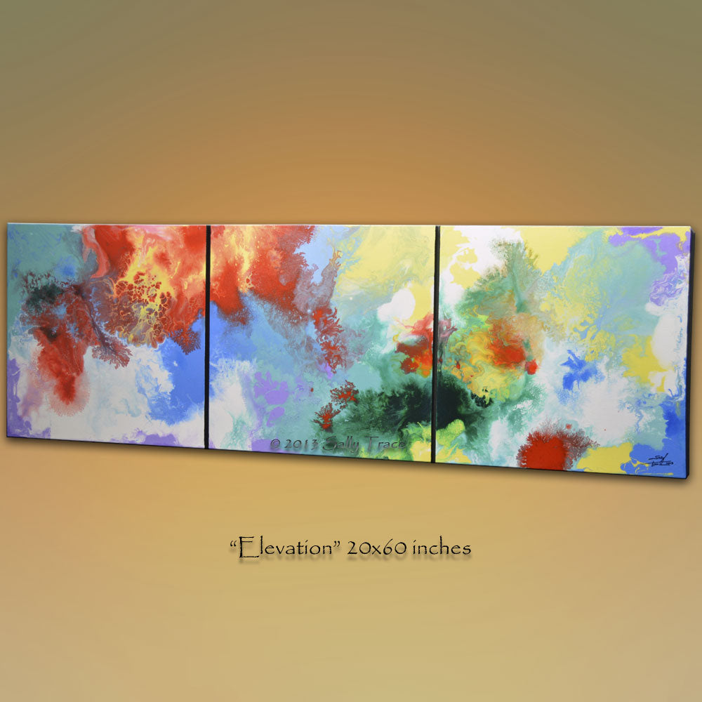 Elevation, Canvas Giclee Print