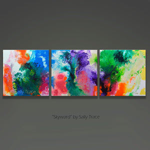 Skyward, contemporary modern art prints for sale by Sally Trace