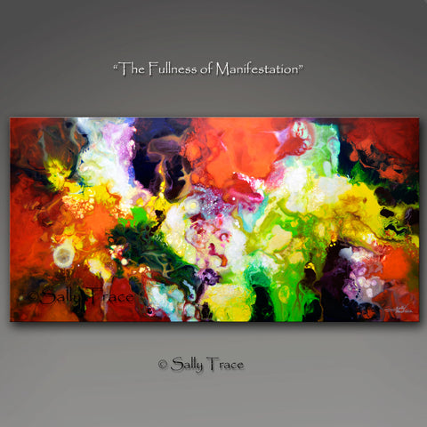 The Fullness of Manifestation, giclee prints on canvas