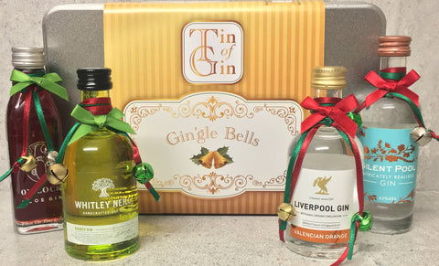 Gin'gle bells Christmas Tin of Gin