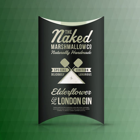 London Gin and elderflower marshmallows