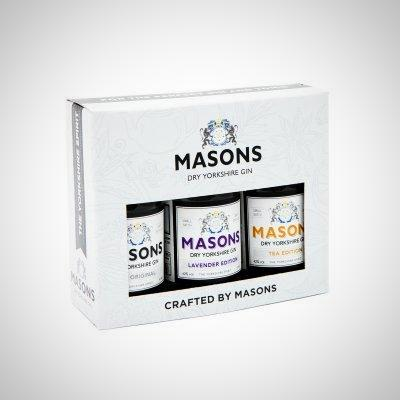 Masons Dry Yorkshire Gin gift selection
