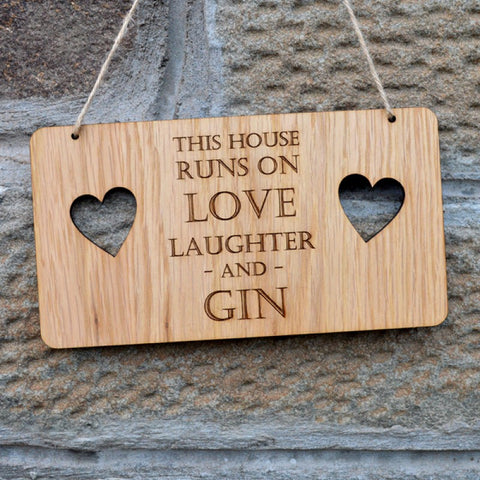 This House runs on Gin