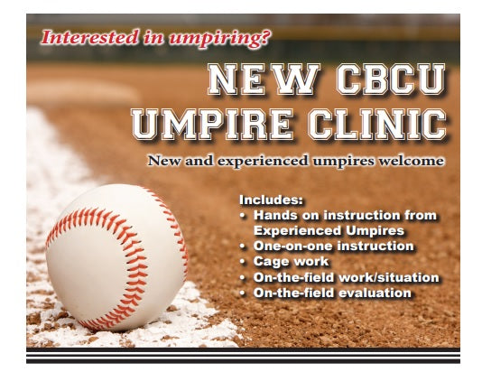 CBCU Houston Beginner & Intermediate Umpire Camp