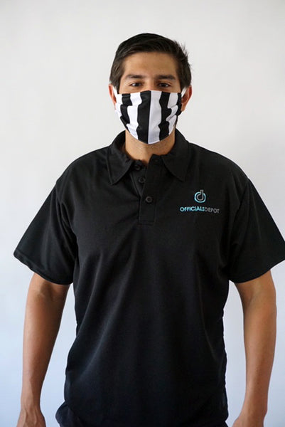 Officials Depot Reusable Poly Performance Fabric FACE MASK