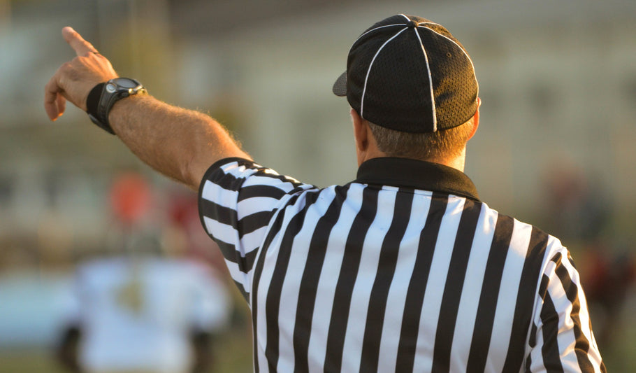 Want to referee high school football in Texas?? Click here to sign up!