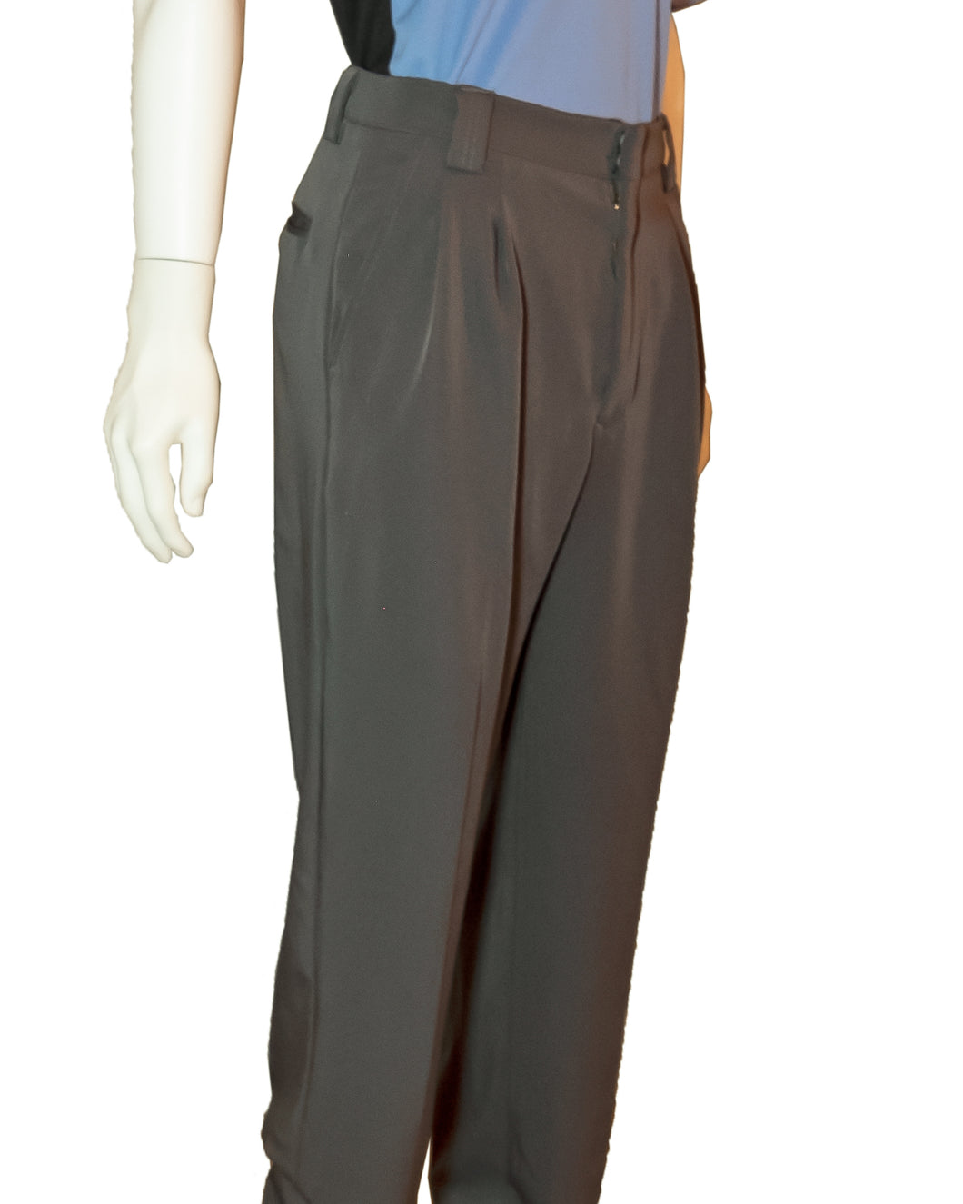 Officials Depot Poly Spandex Umpire Plate Pants - Charcoal Gray BLL6.2 - Officials Depot
