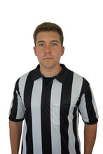 2 1/4 (2.25 inches) Striped Performance Football Sublimated Referee Shirt
