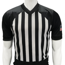 New College Approved V-Neck Basketball Sublimated Referee Shirt (CLEARANCE) - Officials Depot
