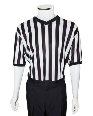 V-Neck Basketball Sublimated Referee Shirt - Officials Depot