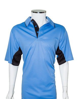 Current Major League Replica Umpire Shirt - SKY BLUE with BLACK - Officials Depot