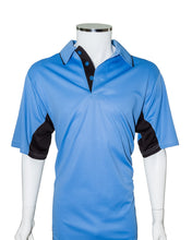 American Association Performance Umpire Shirt - Sky Blue with Black Panels - Officials Depot