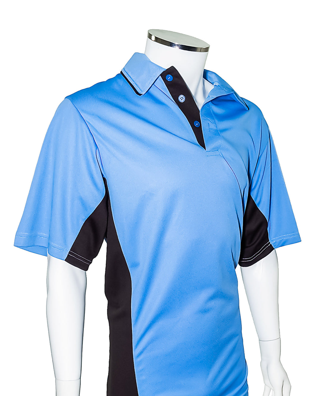 4e25bcb1a3 ... Current Major League Replica Umpire Shirt - SKY BLUE with BLACK -  Officials Depot