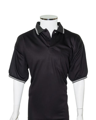 Major League Umpire Shirt - Black (CLEARANCE) - Officials Depot