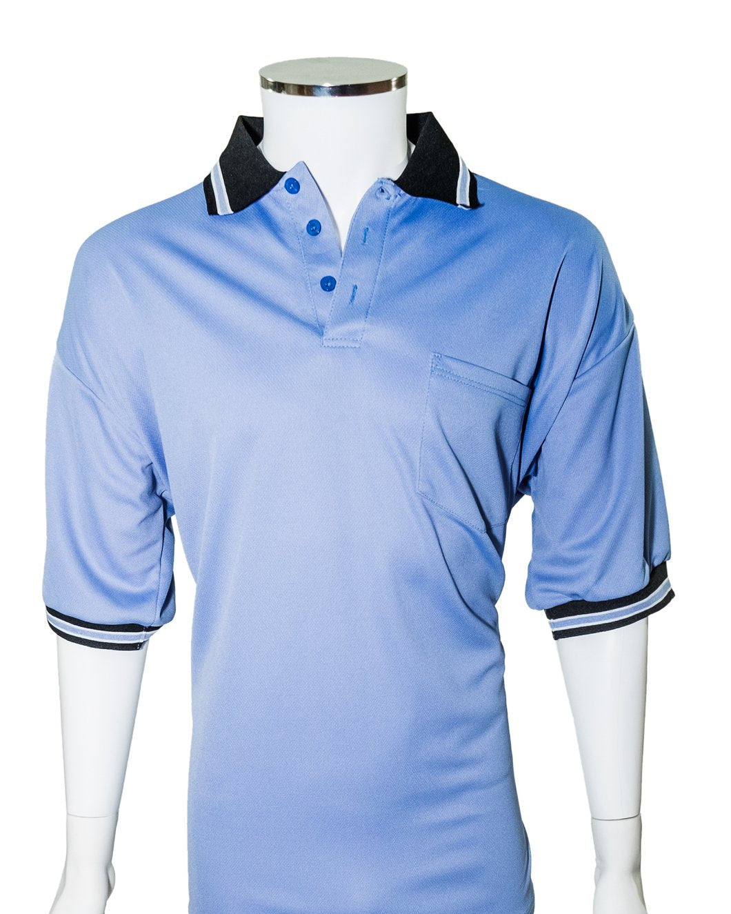 Major League Umpire Shirt - Polo Blue (CLEARANCE) - Officials Depot