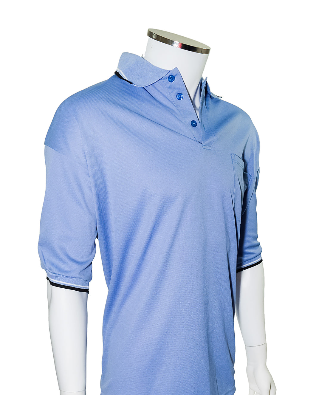 Major League Umpire Shirt - Powder Blue  (CLEARANCE) - Officials Depot