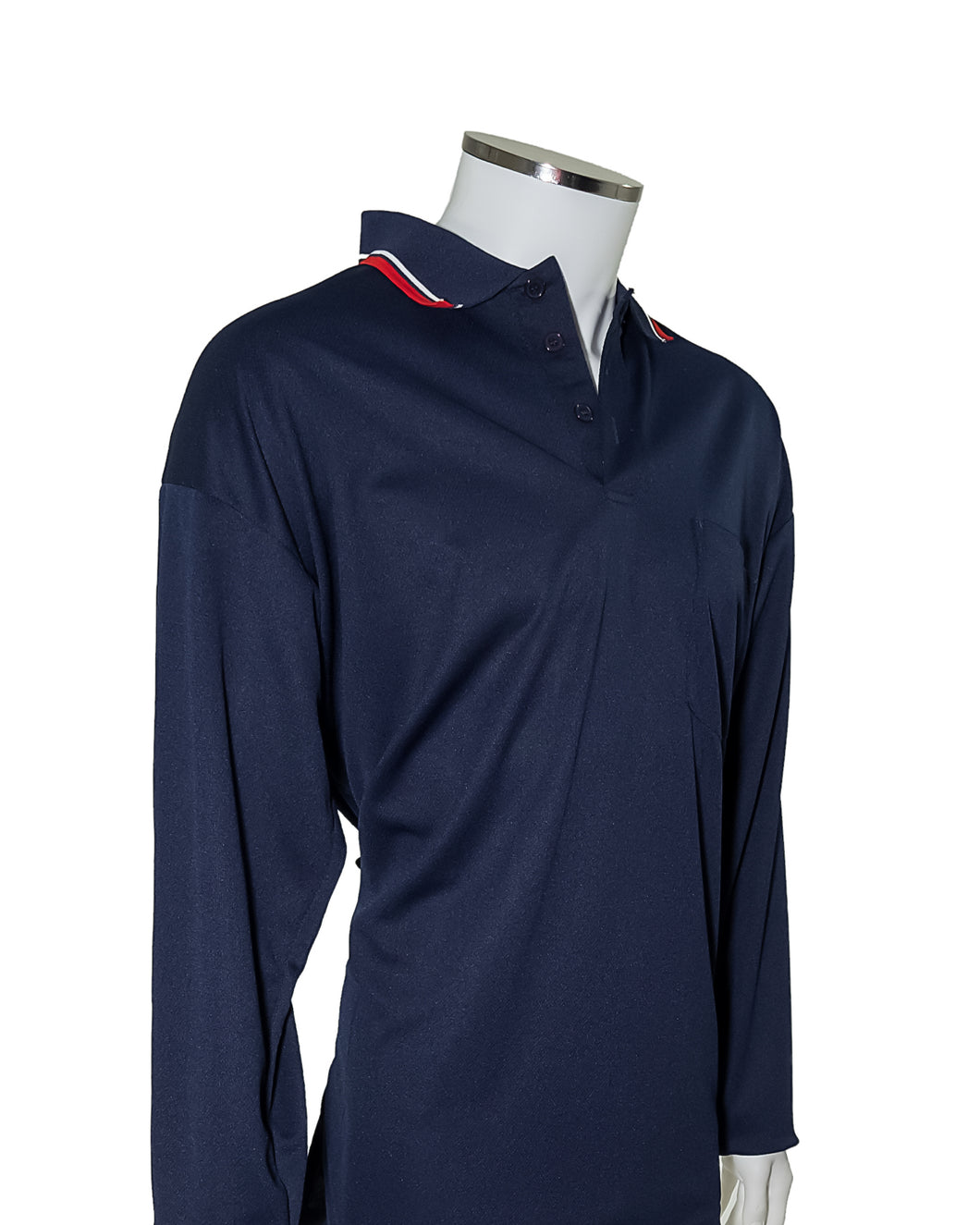 Major League Umpire Shirt - Long Sleeve Navy - Officials Depot