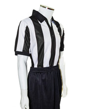 "2.5"" Striped Football Sublimated Referee Shirt (CLEARANCE) - Officials Depot"