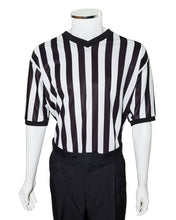V-Neck Basketball Referee Shirt with SIDE PANELS - Officials Depot