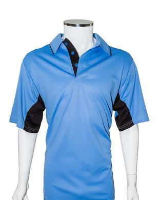 Southland Conference Current Major League Replica Umpire Shirt - SKY BLUE with BLACK SIDE PANELS