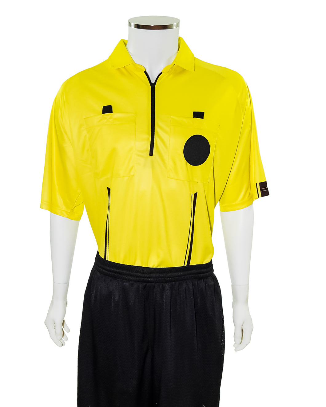 YELLOW New USSF Pro Soccer Referee Jersey - Officials Depot