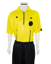 YELLOW New USSF Pro Soccer Referee Jersey (CLEARANCE) - Officials Depot