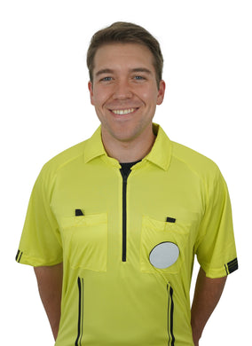 YELLOW New USSF Pro Soccer Referee Jersey