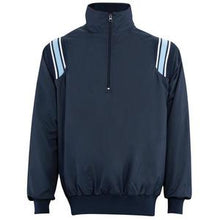 Softball Umpire Jacket - Navy with Powder Blue & White Trim - Officials Depot