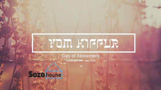 Yom Kippur- Day of Atonment