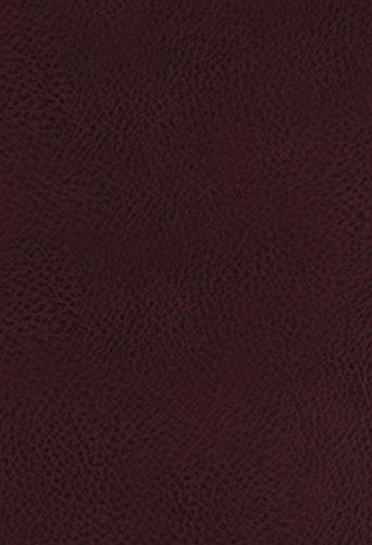 KJV, The King James Study Bible, Bonded Leather, Burgundy, Indexed, Full-Color Edition: Thomas Nelson: 9780718079802