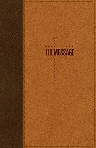The Message Deluxe Gift Bible: The Bible in Contemporary Language: Eugene H. Peterson: 9781631465789