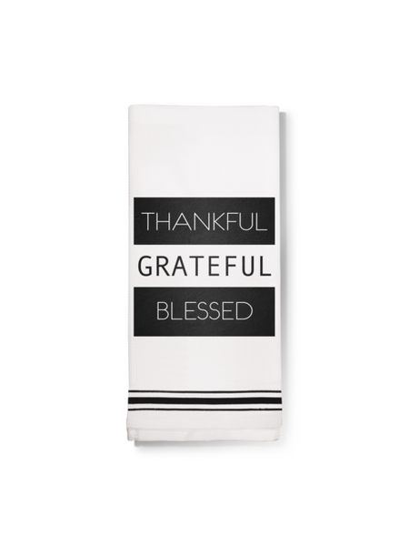 Towel- Thankful Grateful Blessed