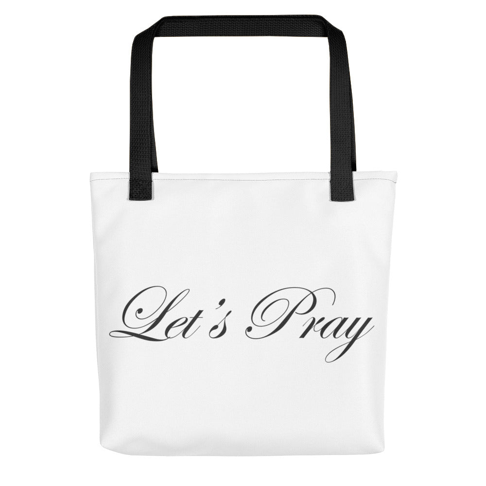 Tote bag: Let's Pray