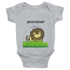 "Infant Bodysuit ""Lion"""