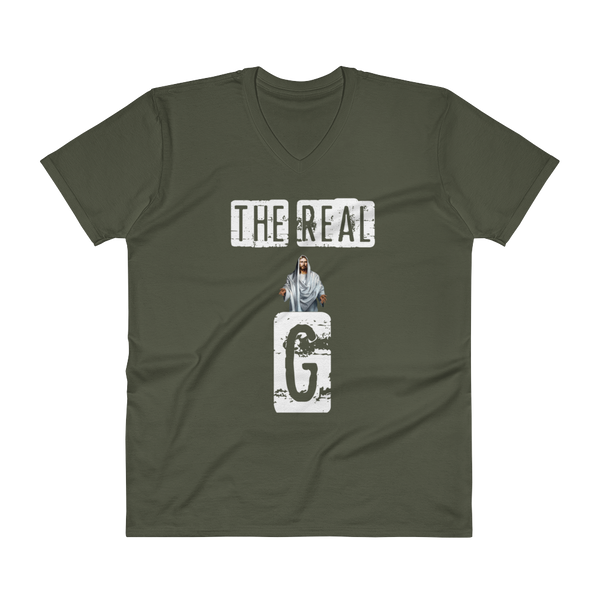 The Real G - V-Neck T-Shirt