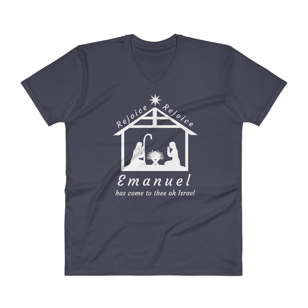 "V-Neck T-Shirt: ""Emanuel"""