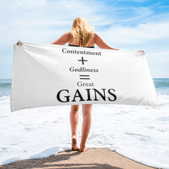 Towel: GAINS