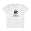 V-Neck T-Shirt: Jesus is King