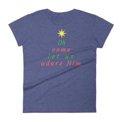 Women's short sleeve t-shirt:
