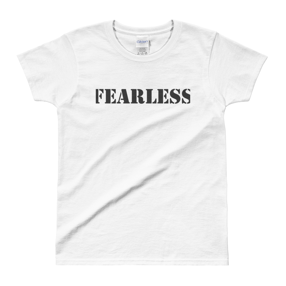 Ladies' T-shirt: Fearless