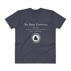 V-Neck T-Shirt 'Great Commission