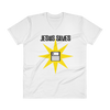 "V-Neck T-Shirt ""Jesus Saves"""