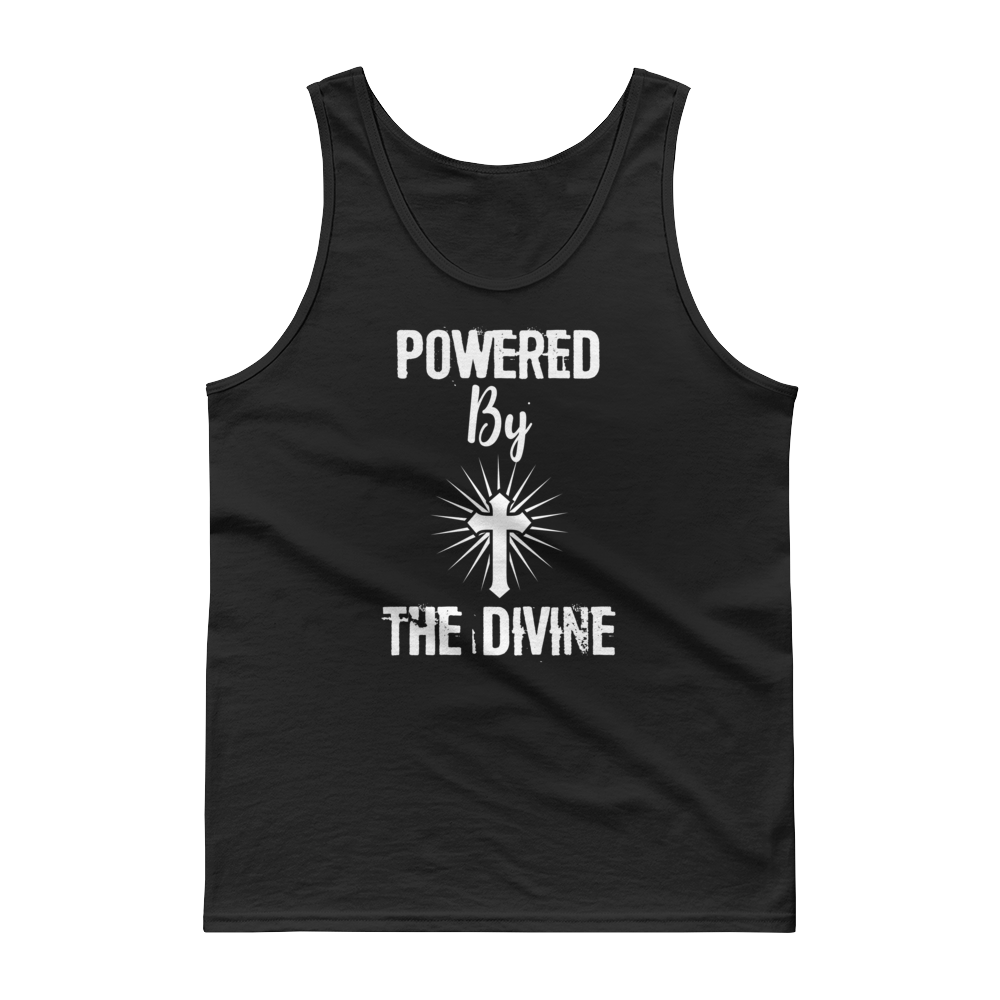 "Tank top ""Powered by the Divine"""