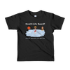 "Short sleeve kids t-shirt ""Jesus Walks on Water"""