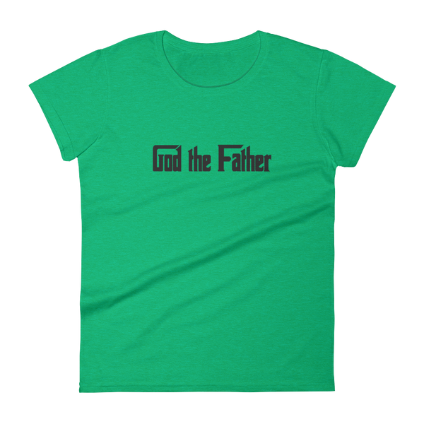 "Women's short sleeve t-shirt ""God the Father"""