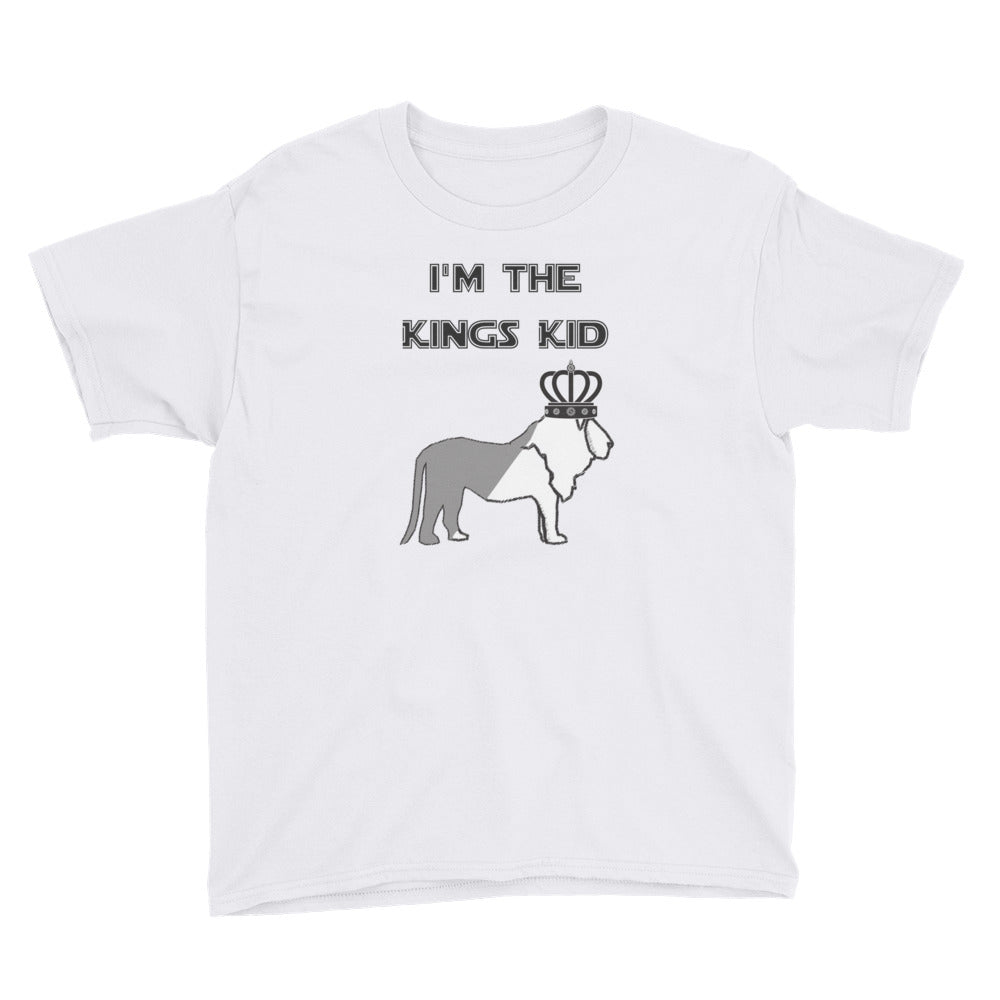 "Youth Short Sleeve T-Shirt ""Kings Kid"""