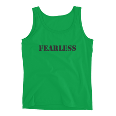 Ladies' Tank: Fearless