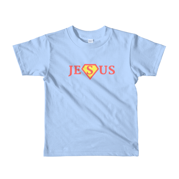 "Short sleeve kids t-shirt ""JESUS"""