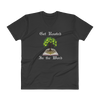 "V-Neck T-Shirt ""Get Rooted in the Word"""