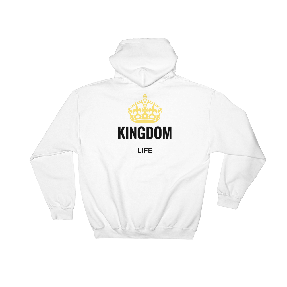 "Hooded Sweatshirt ""Kingdom Life"""